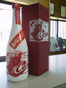 松の露カープボトル720ml新発売